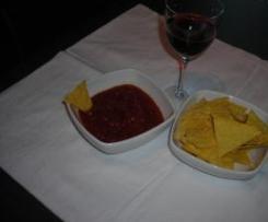 salsina piccante per tortilla chips o nachos