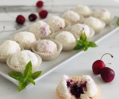 Bon bon al cocco farciti (contest ciliegie)