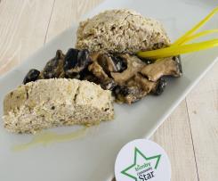 Polpettone con verza e funghi (ricette ristorante)