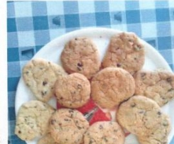 CHOCOLATE CHIP COOKIES(tipici biscotti americani)