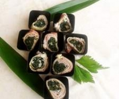 Crepes al verde  Finger Food