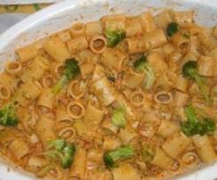 Mezze maniche con il broccolo siciliano