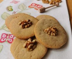 Biscotti Bimby noci e miele facili e golosi