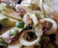 Insalata fresca Finocchi agrumati