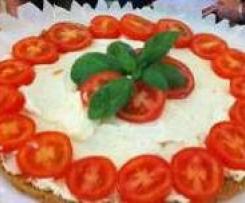 cheesecake estivo al pomodoro