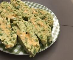 Rotolo di Zucchine al Cheddar