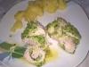 involtini di tacchino con zucchine a varoma con contorno di patate