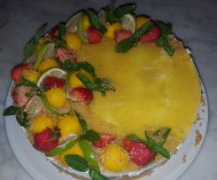 Cheesecake Mango e Lime