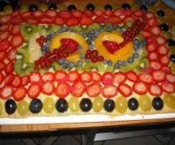 torta golosa alla frutta