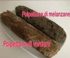 Polpettone di carne con verdure