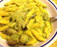 Pasta risottata zucchine e zafferano