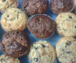 Muffin riciclo al pandoro