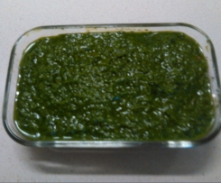Acciughe in salsa verde.