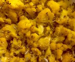 Cavolfiore giallo al profumo di mandarino - contest novembre