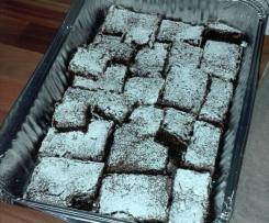 Brownies cioccolato e caffè