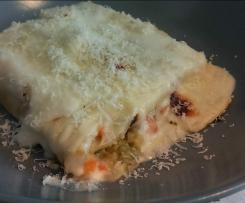 Cannelloni di verdure e formaggio