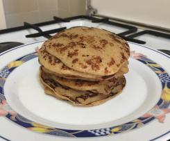 Pancakes integrali alla mela e cannella