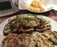 Hamburger di pollo pasticciati