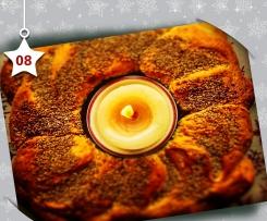 Cuddura ca' ciuciuléna ( corona di pane col sesamo) - natale