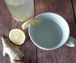 Tisana allo zenzero e limone