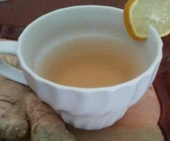 Tisana dimagrante allo zenzero e limone