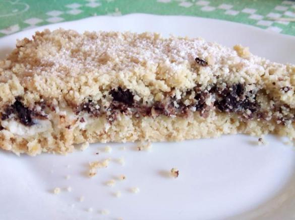 Torta Sbriciolata Ricotta E Cioccolato è Un Ricetta Creata Dall