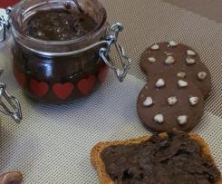 Crema spalmabile con biscotti tipo pan di stelle