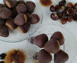 CASTAGNOTTI: dolci con farina di castagne e cioccolato