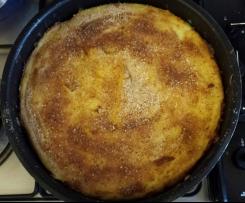 gattò di patate con provola, mortadella e vari formaggi