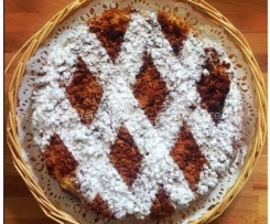 RICETTE DAVANTI AL CAMINO_Torta con ripieno di castagne e ricotte della blogger Cristina
