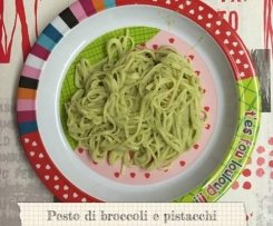 Pesto di broccoli e pistacchi