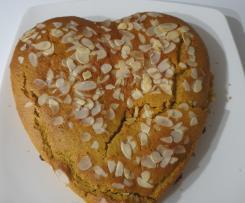 Torta grano saraceno e frutti di bosco