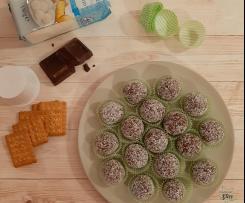 Tartufini al cioccolato e cocco facilissimi