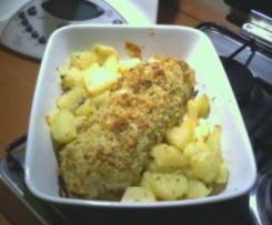 Rollé campagnolo con patate