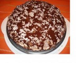 Torta soffice con nutella e panna