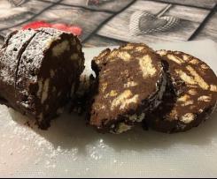 Il Salame di cioccolato dello chef