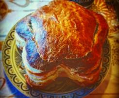 Pan canasta ( base per panettone gastronomico)