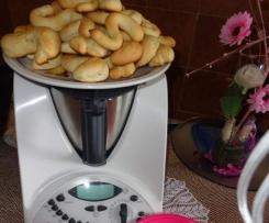 """Biscotti della monaca (biscotti a """"S"""" )"""