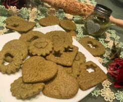 Biscotti al tè matcha senza burro