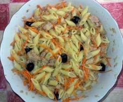 Pasta fredda tonno e carote