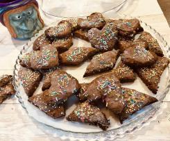 Pabassinos con la sapa, biscotti tipici sardi di Ognissanti