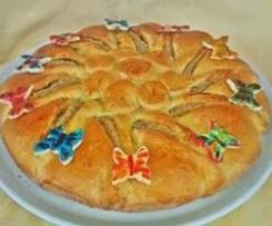 torta panbrioche papillon al couscous