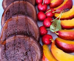 Pancake integrali al cacao