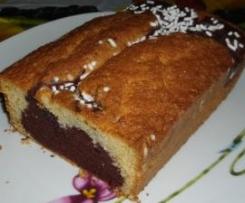 plum cake bianconero