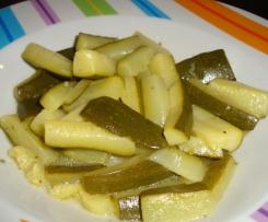 Zucchine nell'aceto