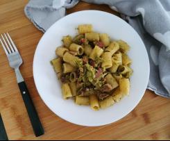 Pasta risottata Bimby guanciale e broccoli