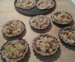 Crostatine con farina di castagne  e mele (dieta dei gruppi sanguigni)