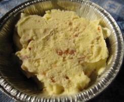 Gelato al cioccolato bianco e pralinato di mandorle