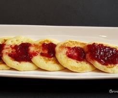 """Mini pancake con salsa alle ciliegie """"contest ciliegie"""""""