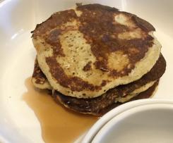 Pancakes alle mele e cannella (dieta dei gruppi sanguigni)